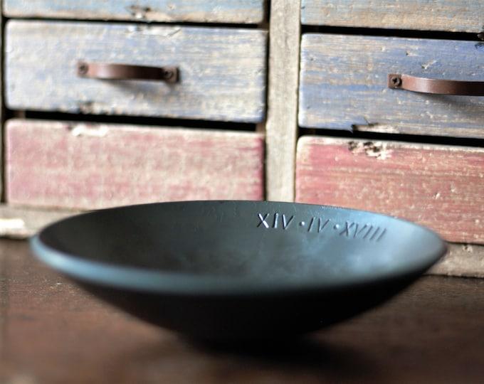 Medium Steel Anniversary Bowl