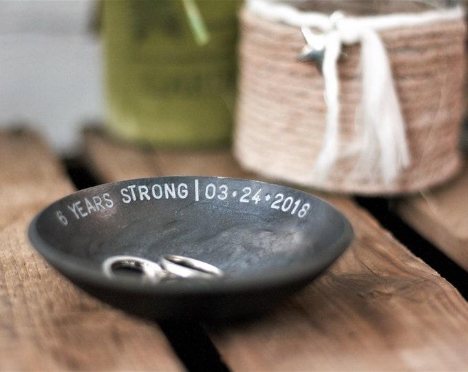 Iron Bowl 6th Anniversary Gift