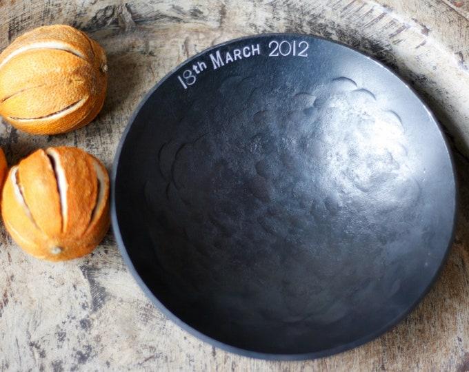 "6"" Personalised Iron Bowl House Warming Gift"