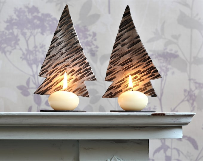 Tree candle holder