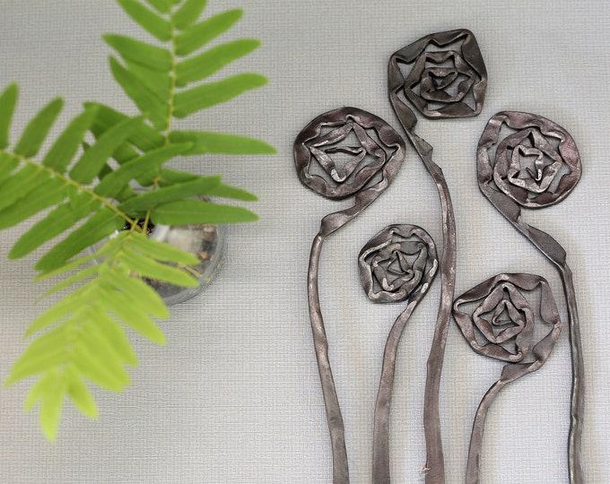 Steel Flower Display