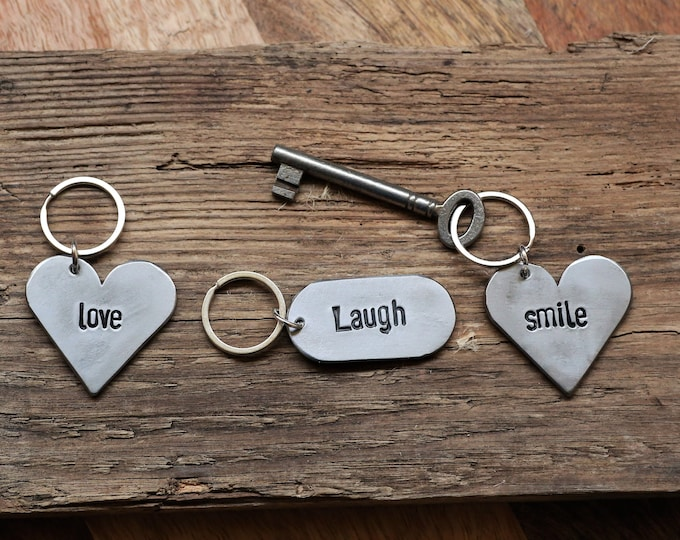 His or Her's Custom Keychains
