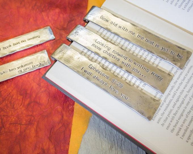 Iron anniversary Bookmark