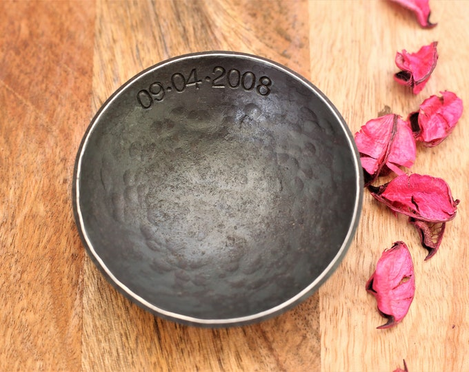 Small Iron Jewelry Bowl