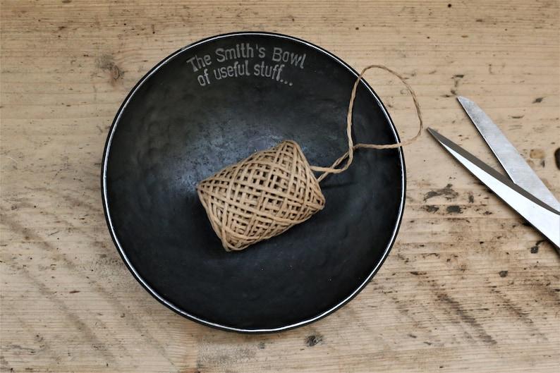 Christmas Gift House Warming Gift Iron Bowl with image 0