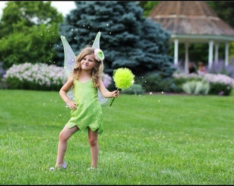 Tinkerbell Costume - Sleeveless - Halloween/Cosplay/Party Dress - Fast Shipping