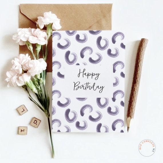 Joyeux Anniversaire Carte Danniversaire Joyeux
