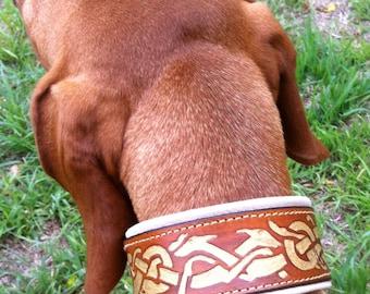 Leather Sight Hound Collar