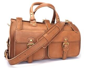 213099e39e Leather Duffle Bag