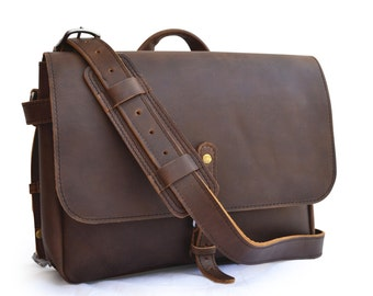 1a54047f4321 CLEARANCE Leather US Postal Messenger Bag Men