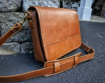 46bb7d90f2 Clearance  - Mens Leather Satchel
