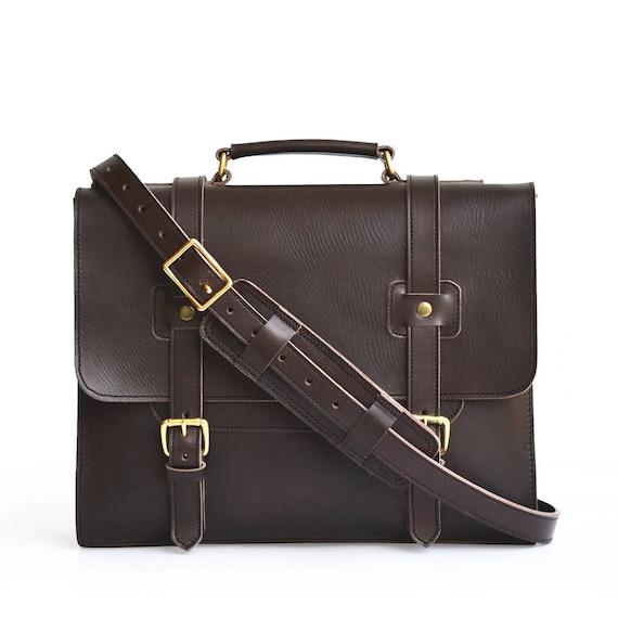 Simple Leather Briefcase Veg Tan Leather Messenger Bag Men - Etsy Simple Leather Briefcase, Veg Tan Leather Messenger Bag Men, Leather Satchel, Leather Laptop Bag Women, Travel Bag, Briefcase Men, Crossbody - 웹