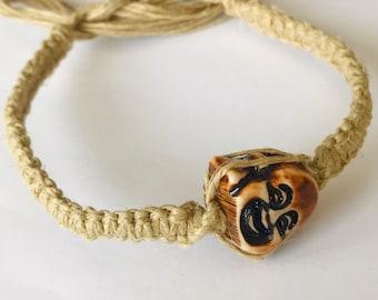 Hemp Buddha Bracelet
