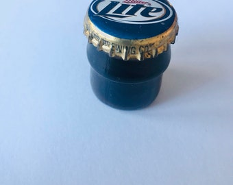 Miller Lite Glass Stash Jar