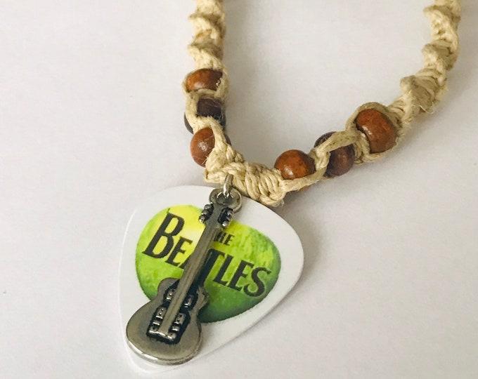 Beatles Apple Hemp Necklace