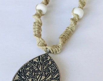 Tree of Life Handmade Hemp Necklace