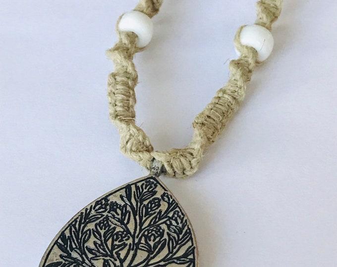 Tree of Life Handmade Hemp Necklace