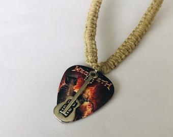 Megadeth Hemp Necklace