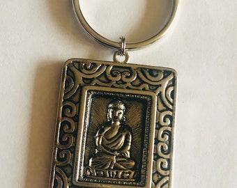 Tibetan Buddha Keychain