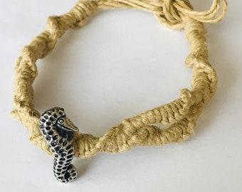 Seahorse Hemp Necklace