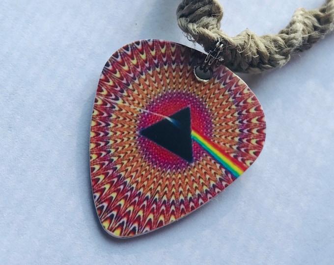 Pink Floyd Hemp Necklace