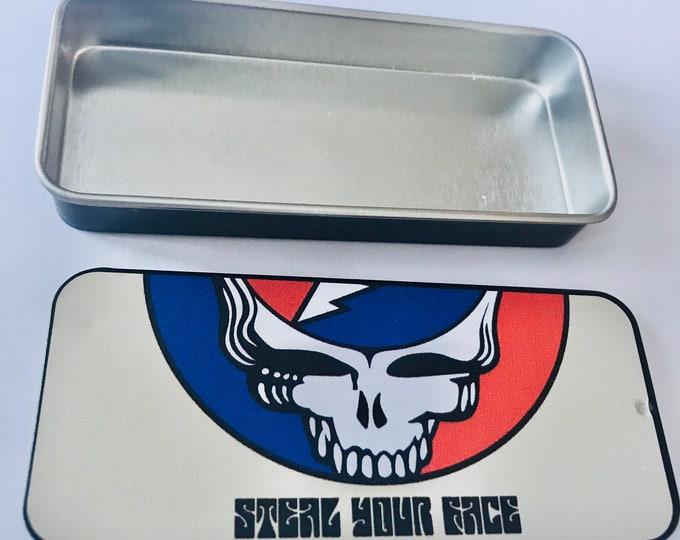 Steal Your Face Stash Jar Box Tin