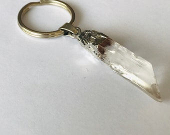 Crystal Stone Pendant Keychain