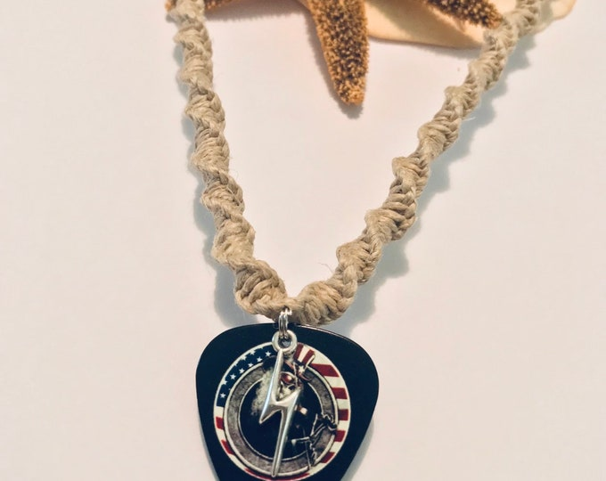 Deadhead Handmade Hemp Necklace
