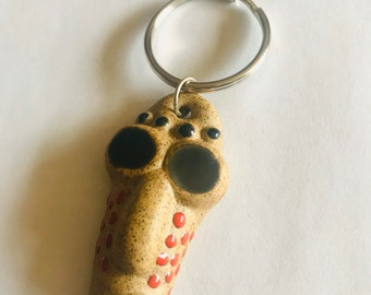 Mask Face Keychain