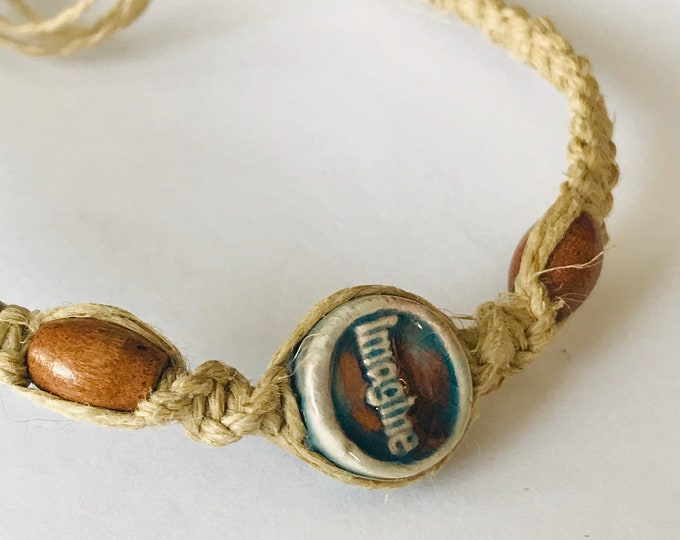 Raku Imagine Hemp Bracelet