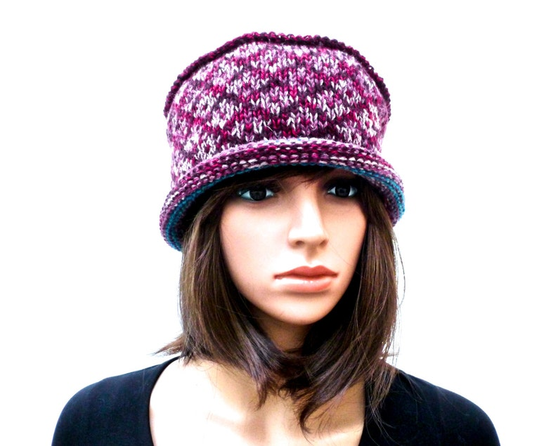 c989e31eb97 Handmade Hat Shetland Wool 100% Wool Hat Knit Hat Irish