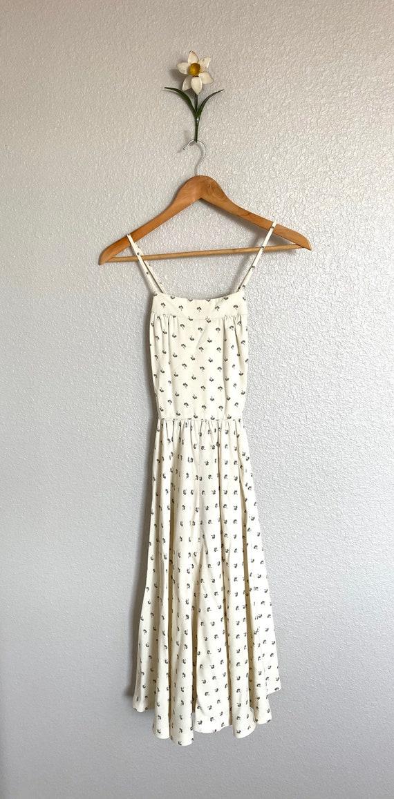 A Dreamy, Creamy Flower Dress
