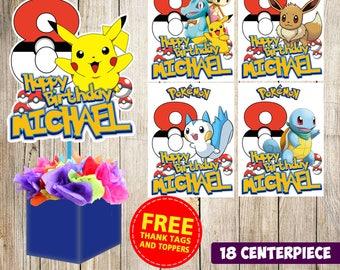 18 Pokemon centerpieces 988c376d6