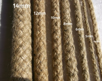 6MM DIAMETER.100% natural braided hemp rope.made in european union .professional quality.low price.save money.shibari/kinbaku