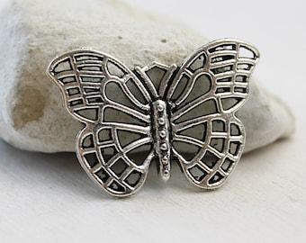 20 Mix Antiksilber Libelle Schmetterling Charm Anhänger Kettenanhänger PD