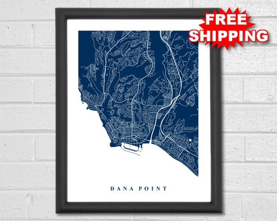Dana Point Map Art - City Map - California - Office Decor - Travel on mission viejo california map, mountain ranch california map, cherry valley california map, bodega head california map, cardiff by the sea california map, north lake tahoe california map, santa monica california map, vernon california map, kelseyville california map, vallecito california map, mission santa barbara california map, forest falls california map, burson california map, fontana california map, mission beach california map, pinyon pines california map, long beach california map, mission san juan capistrano california map, santa barbara island california map, diamond springs california map,