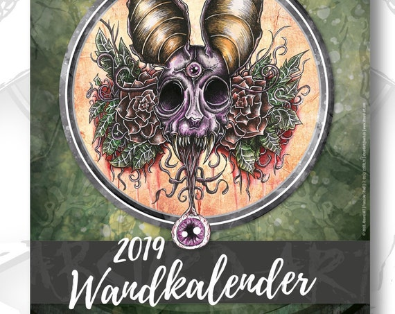 A3 (29,7 x 42,0 cm) Wandkalender 2019, Absurd ART