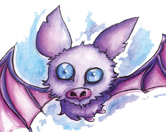 """Flying Fox"" Print"