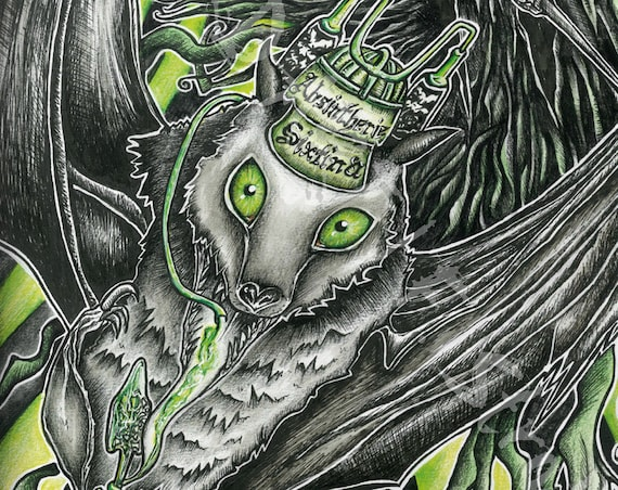 """Absintherie Sixtina"" limited Print"