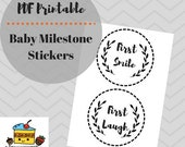 Baby Milestone Cards Stic...