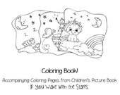 Coloring Book/Pages from Children's Sleep Picture Book If You Wake with the Stars
