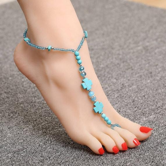 Barefoot Sandals  Beach Sandals  Yoga Shoes  Bridesmaid Barefoot Sandals  Wedding barefoot sandals  Pearl Barefoot Sandals