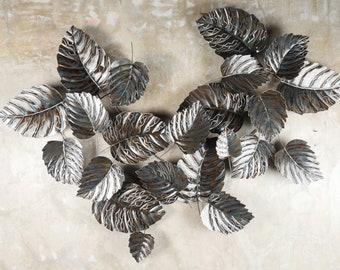 Minimalist Leaf Wall Decor - Iron Hanging Metal Art - Metal Leaf - Decorative Metal Leaves - Modern Metal Leaf Wall Decor -