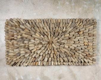Driftwood Wall Decor - Driftwood Art - Boho Wall Decor - Beach Decor - Recycled Wood