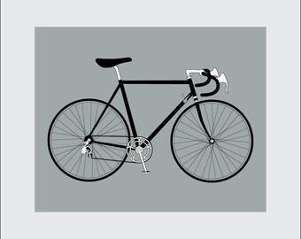 Arte stampa, 8 x 10 in bicicletta stampabile, moto velocità 10, Instant Scarica, digitale