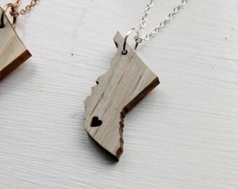 British Columbia Love // Beetle Pine Necklace