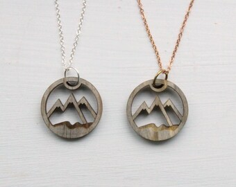 North Shore Mountains Love // Beetle Pine Necklace