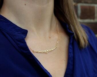 Geometric Phoenix Necklace