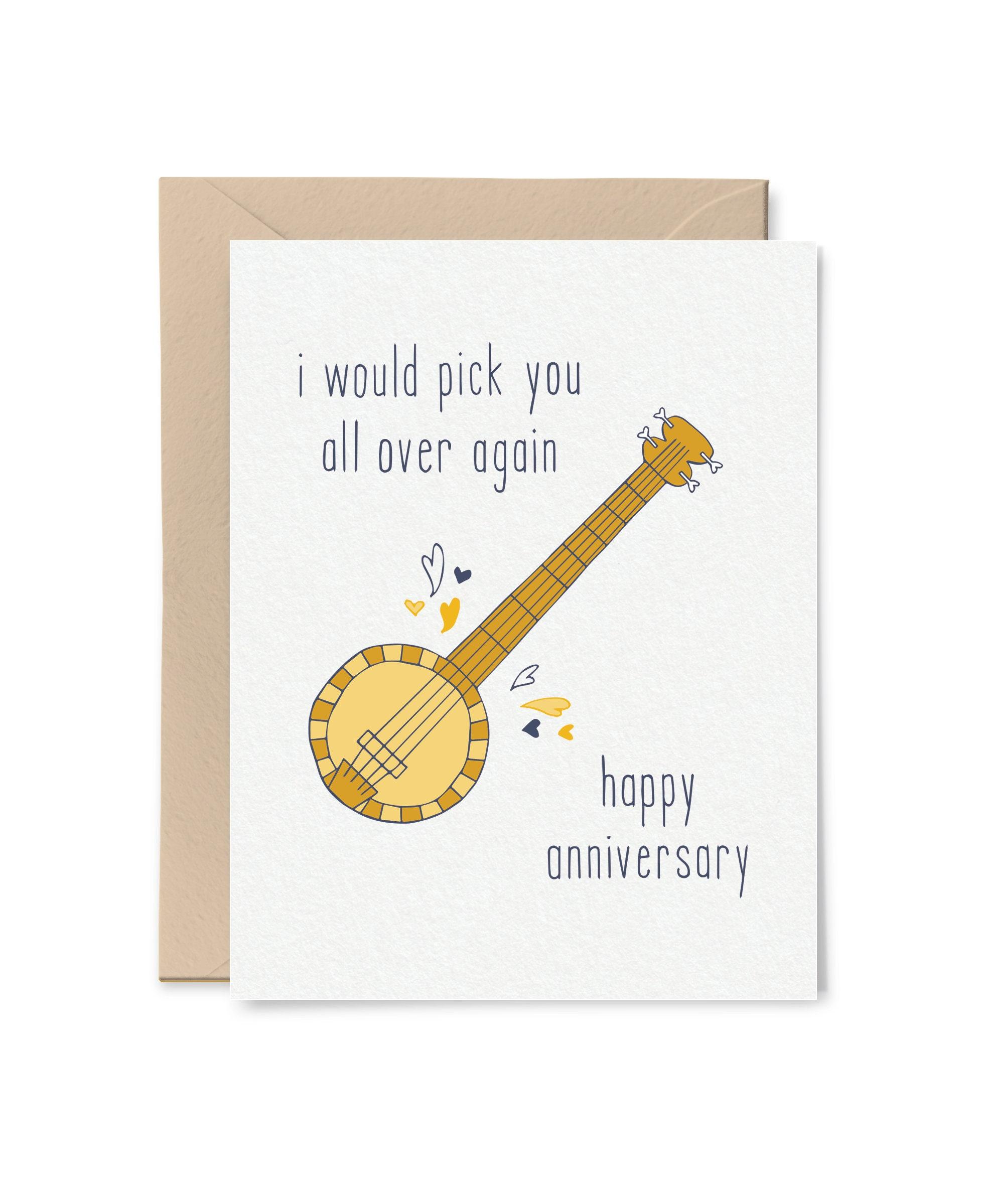 Anniversary Card Anniversary Card For Husband Anniversary Etsy