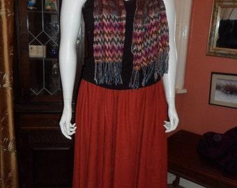 d29321d6897 Plus Size Long 100% Linnen Skirt Size 22 24